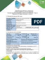 Guía de actividades y rúbrica de evaluación - Fase 4 - Dinamica OT región-municipio o cuenca