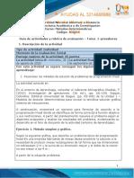 Tarea 1 - Presaberes metodos deterministicos
