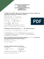 Guías Matemática IV