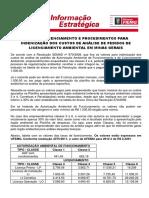 TAXAS DE LICENCIAMENTO PARA INDENIZAÇÃO DOS CUSTOS DE ANÁLISE DE LICENCIAMENTO AMBIENTAL EM MG.pdf