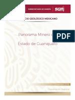Panorama Minero del Estado de Guanajuato