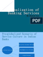 Globalization of Banking Services