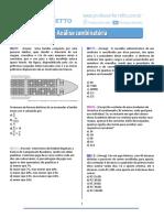 Análise Combinatória - Questões