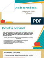 5° semana ruta de aprendizaje 3° básico Lenguaje.pptx