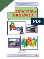 NUEVA ESTRUCTURA ORGÁNICA HUACAR 13 junio