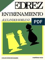 Alexander Koblenz - Ajedrez de Entrenamiento.pdf