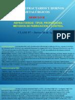 Clase 07 - Refractarios y hornos metalúrgicos - MODULO II