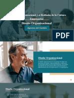 Desarrollo Organizacional Agentes de cambio