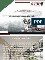 DIRECTIVA 104 PRIORITARIA BAS12 MMPO