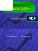 Hong Kong and German Models for Market Driven MRT development in the Philippines (2008)