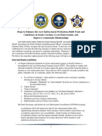 sC Goals for Police Reform
