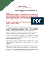 LEY DE EVAL DE IMPACTO AMBIENTAL