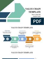 Value Chain by Slidesgo