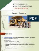 DEFINICION DE CARGUIO Y TRANSPORTE