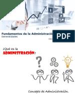 Fundamentos de la administración 2020