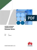 HUAWEI USG6000E V600R007SPH002 Release Notes