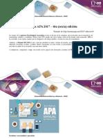 Normas APA versión 6 UNAD