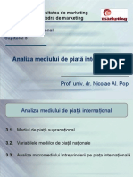 Cap. 3. Analiza mediului de piata international