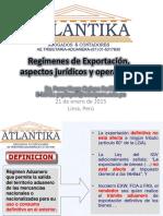 1Regímenes de Exportación, aspectos juridicos y operativos.pdf