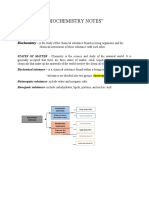 UNIT1-BIOCHEMISTRY-NOTES