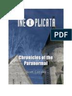 INEXPLICATA Chronicles of the Paranormal