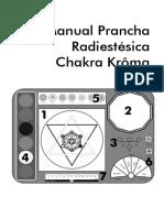 Manual Prancha Radiestésica Chakra Krôma