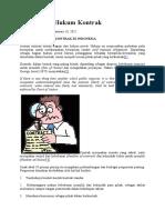 Memahami Hukum Kontrak