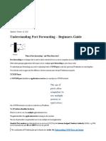 Understanding Port Forwarding