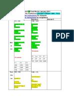 Ib and Igcse Mock Timetable