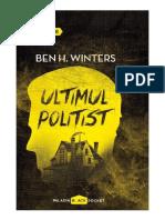 Ben Winters - Ultimul poliţist.docx