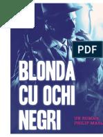 Benjamin Black - Blonda cu ochi negri.docx