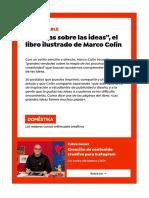 """""""30 ideas sobre las ideas"""", el libro ilustrado de Marco Colín"""
