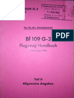 bf109g3 Flugzeug-Handbuch