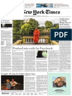 The New York Times International - 26-08-2020