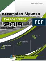 Kecamatan Mpunda Dalam Angka 2019