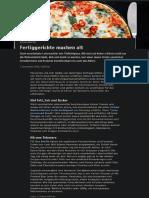 Ernährung _Auswirkung von Fertiggerichten auf Alterungsprozesse im Körper (2020-09)