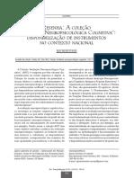 Resenha a Coleção Avaliação Neuropsicológica Cognitiva - Disponibilização de Instrumentos No Contexto Nacional