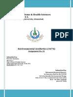 Solution-3674 Environmental Aesthetics Assignment 1