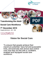 South West regional approach for social care workforce redesign