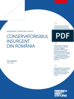 Conservatorismul insurgent din Romania - FES