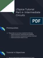 LTspice Tutorial Part 4- Intermediate Circuits