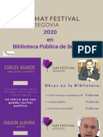 Guía Hay Festival 2020