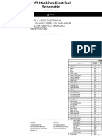 M318 & M320 ELECTRICAL SCHEMATIC FOR HYD CAB RISER USED IN SERVICE MANUALS RENR1150,1160 _ CAT Machines Electrical Schematic.pdf