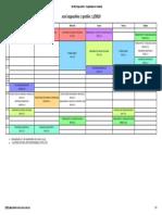 SCESI Cappuchino - Organizador de horarios