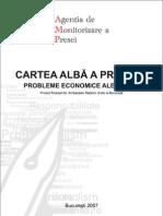 Cartea alba a presei III Probleme economice ale presei
