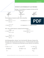 worksheet on continuity and the intermediate value theroem (1)