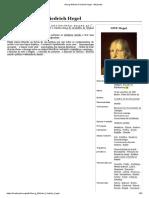 WIKIPEDIA. Friedrich Hegel (Tradução do francês)