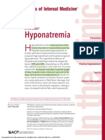 Hiponatremia in the Clinica (2)