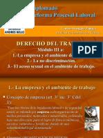 Diplomado RPL=D° Trabajo III a=Empresa y ambiente