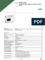Relés Inteligentes - Zelio Logic_SR2B201BD